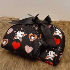 (NWOT) BETTY BOOP ACCESSORY BAGS